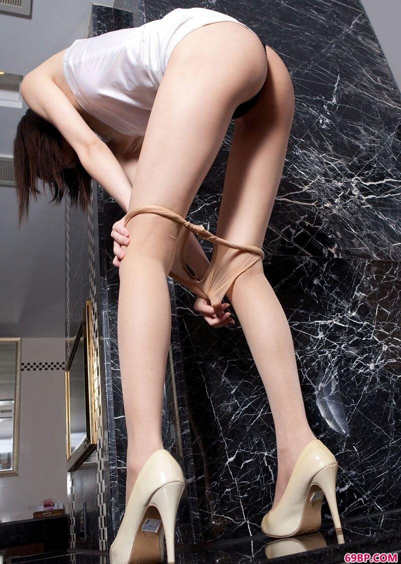 美腿美模第121期艾子,西西人体艺术性感丝袜高跟美女