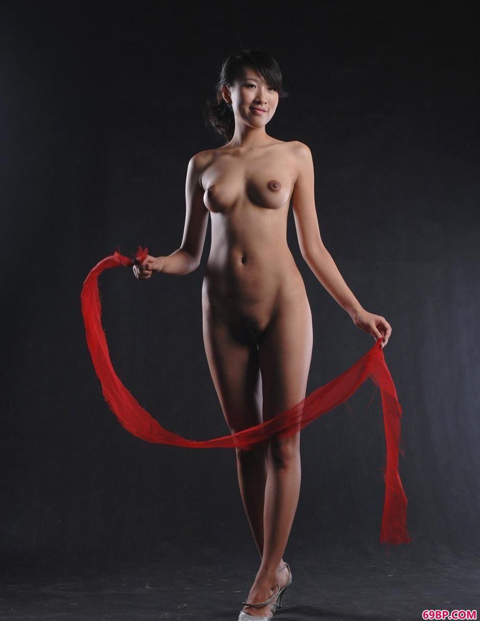 黑丝袜诱惑_芳芳人体写真专辑4