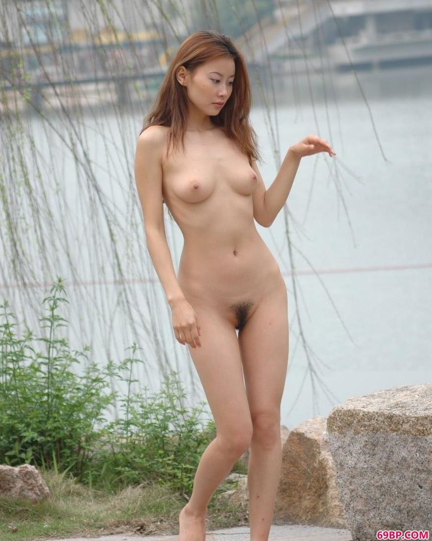 嫩模王丹深圳海上田园人体写真B2