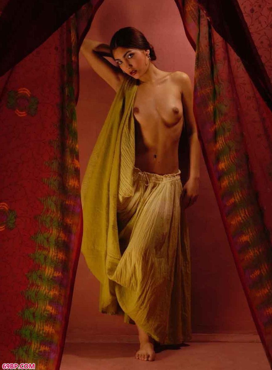 西班牙超模Flamenco室拍民族舞蹈人体